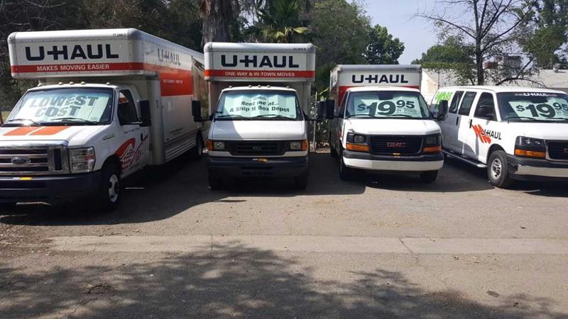 U-Haul Rental | Van Nuys, CA | SHIP N BOX DEPOT